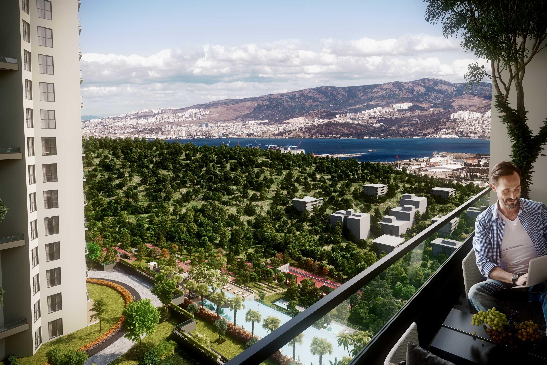 **Ein Traum wird wahr** Neubau-Luxus ETW in exklusiver Lage von Bornova/Izmir!!!